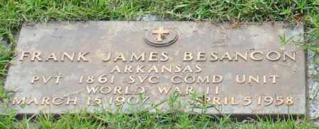 BESANCON (VETERAN WWII), FRANK JAMES - Saline County, Arkansas | FRANK JAMES BESANCON (VETERAN WWII) - Arkansas Gravestone Photos