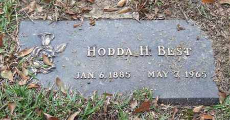 BEST, HODDA H. - Saline County, Arkansas | HODDA H. BEST - Arkansas Gravestone Photos