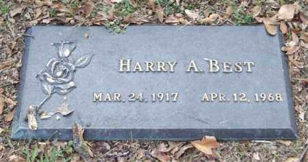 BEST, HARRY A. - Saline County, Arkansas | HARRY A. BEST - Arkansas Gravestone Photos