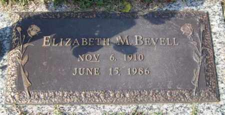 BEVELL, ELIZABETH M. - Saline County, Arkansas | ELIZABETH M. BEVELL - Arkansas Gravestone Photos