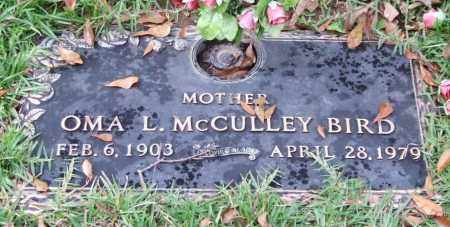 MCCULLEY BIRD, OMA L. - Saline County, Arkansas | OMA L. MCCULLEY BIRD - Arkansas Gravestone Photos