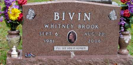 BIVIN, WHITNEY BROOK - Saline County, Arkansas | WHITNEY BROOK BIVIN - Arkansas Gravestone Photos