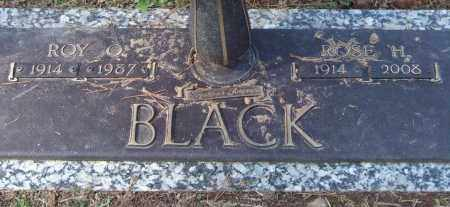 BLACK, ROY O. - Saline County, Arkansas | ROY O. BLACK - Arkansas Gravestone Photos