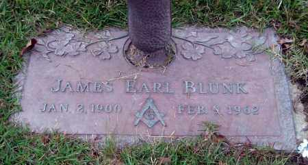 BLUNK, JAMES EARL - Saline County, Arkansas | JAMES EARL BLUNK - Arkansas Gravestone Photos