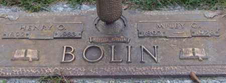 BOLIN, MILEY G. - Saline County, Arkansas | MILEY G. BOLIN - Arkansas Gravestone Photos