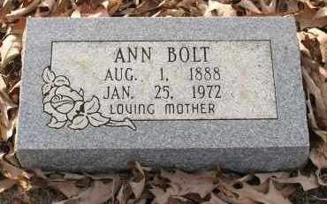 BOLT, ANN - Saline County, Arkansas | ANN BOLT - Arkansas Gravestone Photos