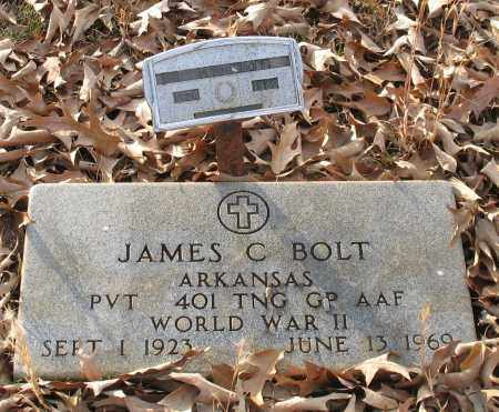 BOLT (VETERAN WWII), JAMES CLYDE - Saline County, Arkansas | JAMES CLYDE BOLT (VETERAN WWII) - Arkansas Gravestone Photos