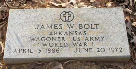 BOLT (VETERAN WWI), JAMES WILLIS - Saline County, Arkansas | JAMES WILLIS BOLT (VETERAN WWI) - Arkansas Gravestone Photos