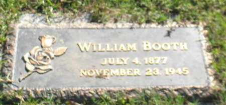 BOOTH, WILLIAM - Saline County, Arkansas | WILLIAM BOOTH - Arkansas Gravestone Photos