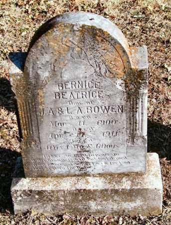 BOWEN, BERNICE BEATRICE - Saline County, Arkansas | BERNICE BEATRICE BOWEN - Arkansas Gravestone Photos