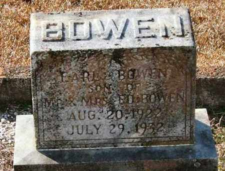 BOWEN, EARL - Saline County, Arkansas | EARL BOWEN - Arkansas Gravestone Photos