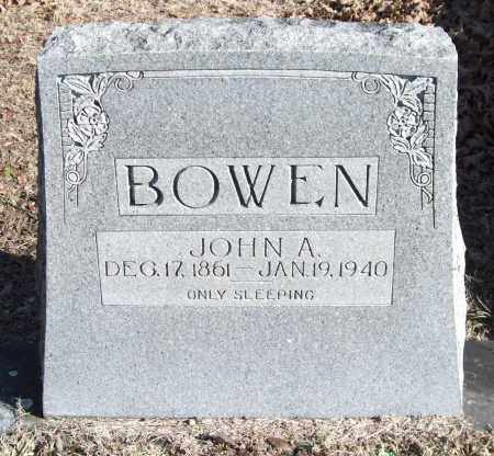 BOWEN, JOHN A. - Saline County, Arkansas | JOHN A. BOWEN - Arkansas Gravestone Photos