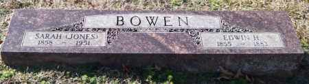 JONES BOWEN, SARAH - Saline County, Arkansas | SARAH JONES BOWEN - Arkansas Gravestone Photos