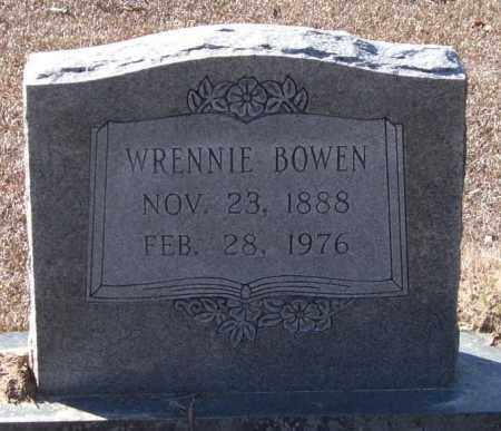 KELLEY BOWEN, WRENNIE - Saline County, Arkansas | WRENNIE KELLEY BOWEN - Arkansas Gravestone Photos