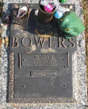 BOWERS, BENNY L. - Saline County, Arkansas   BENNY L. BOWERS - Arkansas Gravestone Photos