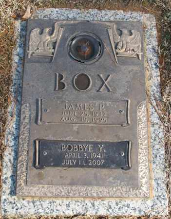 BOX, JAMES P. - Saline County, Arkansas | JAMES P. BOX - Arkansas Gravestone Photos
