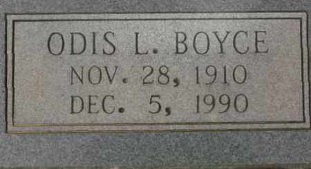 BOYCE, ODIS L. - Saline County, Arkansas | ODIS L. BOYCE - Arkansas Gravestone Photos