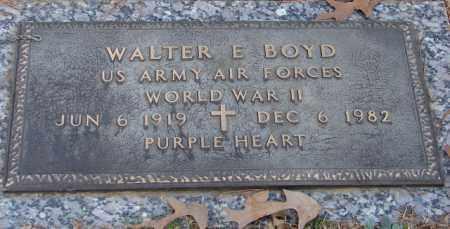 BOYD (VETERAN WWII), WALTER E - Saline County, Arkansas | WALTER E BOYD (VETERAN WWII) - Arkansas Gravestone Photos