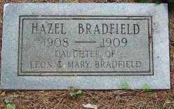 BRADFIELD, HAZEL - Saline County, Arkansas | HAZEL BRADFIELD - Arkansas Gravestone Photos
