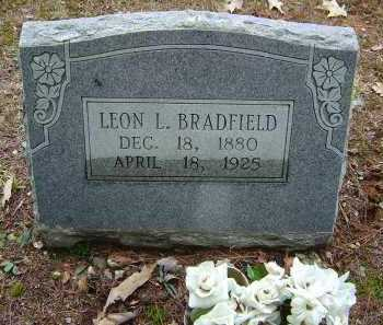 BRADFIELD, LEON L. - Saline County, Arkansas | LEON L. BRADFIELD - Arkansas Gravestone Photos