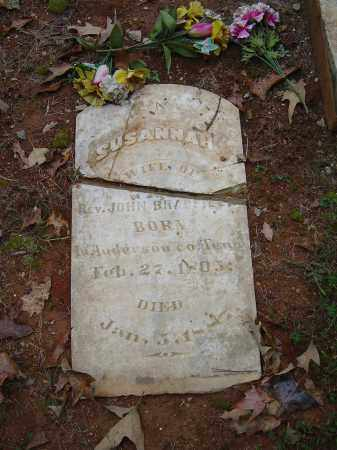 THURMAN BRADFIELD, SUSANNAH - Saline County, Arkansas | SUSANNAH THURMAN BRADFIELD - Arkansas Gravestone Photos