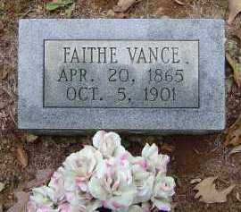 ROBERTS BRADFIELD VANCE, FAITHE ANN - Saline County, Arkansas | FAITHE ANN ROBERTS BRADFIELD VANCE - Arkansas Gravestone Photos