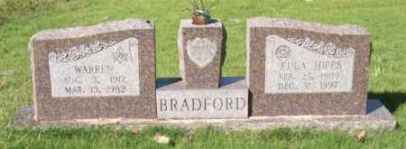 BRADFORD, WARREN - Saline County, Arkansas | WARREN BRADFORD - Arkansas Gravestone Photos
