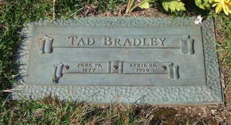 BRADLEY, TAD - Saline County, Arkansas | TAD BRADLEY - Arkansas Gravestone Photos