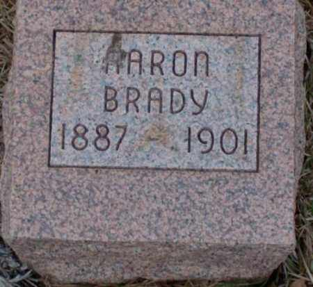 BRADY, AARON - Saline County, Arkansas | AARON BRADY - Arkansas Gravestone Photos