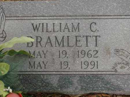 BRAMLETT, WILLIAM C. - Saline County, Arkansas   WILLIAM C. BRAMLETT - Arkansas Gravestone Photos