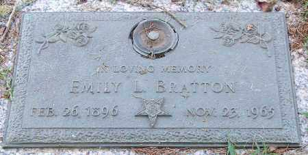 ADAIR BRATTON, EMILY L. - Saline County, Arkansas | EMILY L. ADAIR BRATTON - Arkansas Gravestone Photos
