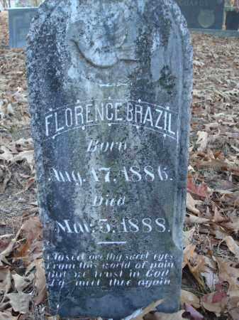 BRAZIL, FLORENCE - Saline County, Arkansas | FLORENCE BRAZIL - Arkansas Gravestone Photos