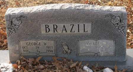 BRAZIL, GEORGE W. - Saline County, Arkansas | GEORGE W. BRAZIL - Arkansas Gravestone Photos