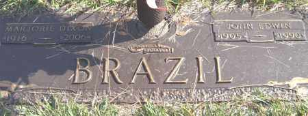 BRAZIL, JOHN EDWIN - Saline County, Arkansas | JOHN EDWIN BRAZIL - Arkansas Gravestone Photos