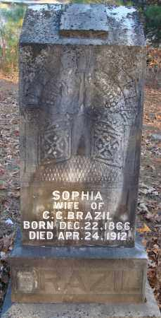 BRAZIL, SOPHIA - Saline County, Arkansas | SOPHIA BRAZIL - Arkansas Gravestone Photos