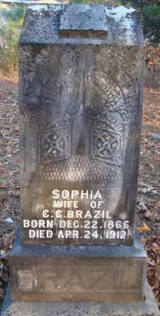 BRAZIL, SOPHIA - Saline County, Arkansas | SOPHIA BRAZIL - Arkansas Gravestone Photos