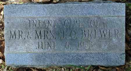 BREWER, INFANT GIRL - Saline County, Arkansas | INFANT GIRL BREWER - Arkansas Gravestone Photos