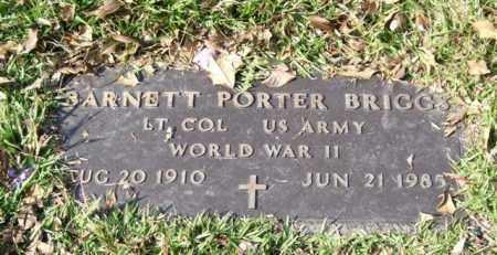BRIGGS (VETERAN WWII), BARNETT PORTER - Saline County, Arkansas | BARNETT PORTER BRIGGS (VETERAN WWII) - Arkansas Gravestone Photos