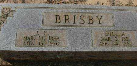 BRISBY, STELLA - Saline County, Arkansas | STELLA BRISBY - Arkansas Gravestone Photos