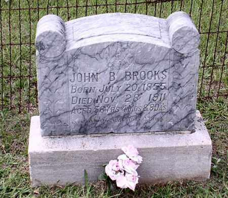 BROOKS, JOHN B - Saline County, Arkansas | JOHN B BROOKS - Arkansas Gravestone Photos