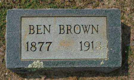 BROWN, BEN - Saline County, Arkansas | BEN BROWN - Arkansas Gravestone Photos