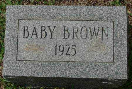 BROWN, BABY - Saline County, Arkansas | BABY BROWN - Arkansas Gravestone Photos