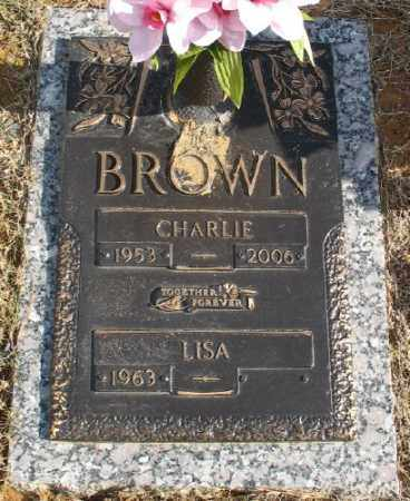 BROWN, CHARLIE - Saline County, Arkansas | CHARLIE BROWN - Arkansas Gravestone Photos