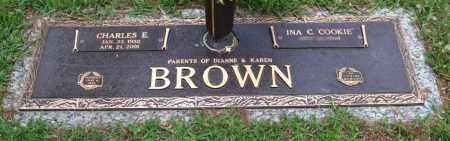 BROWN, CHARLES E. - Saline County, Arkansas | CHARLES E. BROWN - Arkansas Gravestone Photos