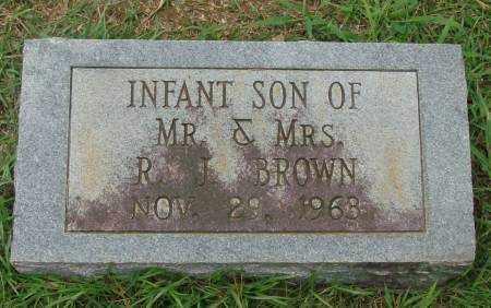 BROWN, INFANT SON - Saline County, Arkansas | INFANT SON BROWN - Arkansas Gravestone Photos