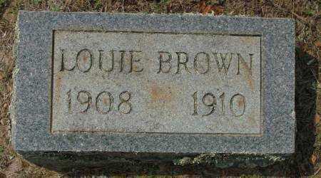 BROWN, LOUIE - Saline County, Arkansas | LOUIE BROWN - Arkansas Gravestone Photos