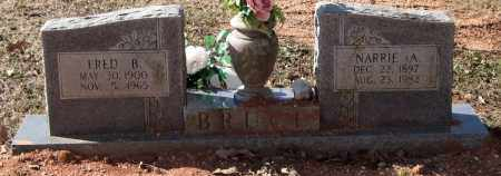 BRUCE, NARRIE A. - Saline County, Arkansas | NARRIE A. BRUCE - Arkansas Gravestone Photos