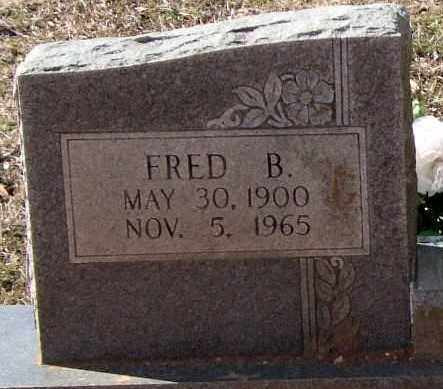 BRUCE, FRED B. (CLOSEUP) - Saline County, Arkansas | FRED B. (CLOSEUP) BRUCE - Arkansas Gravestone Photos