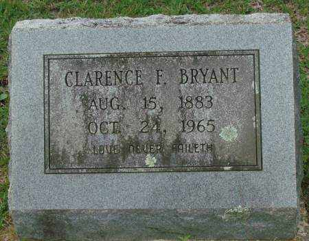 BRYANT, CLARENCE F. - Saline County, Arkansas | CLARENCE F. BRYANT - Arkansas Gravestone Photos