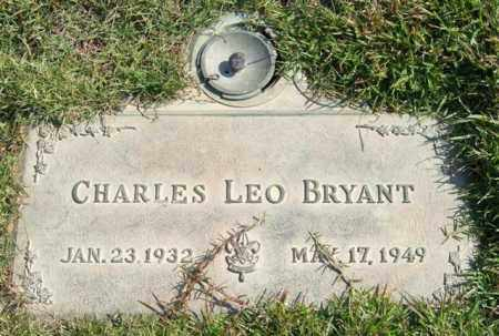 BRYANT, CHARLES LEO - Saline County, Arkansas | CHARLES LEO BRYANT - Arkansas Gravestone Photos